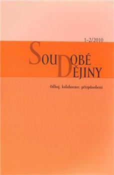 Obálka titulu Soudobé dějiny 1.-2./2010