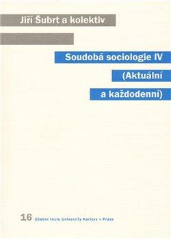 Obálka titulu Soudobá sociologie IV.