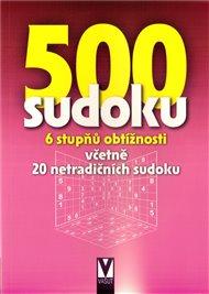 500 sudoku - 6 stupňů obtížností (fialová)