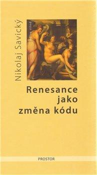 Obálka titulu Renesance jako změna kódu