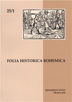 Obálka titulu Folia Historica Bohemica 25/1