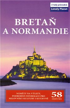 Obálka titulu Bretaň a Normandie - Lonely Planet