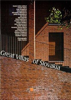 Obálka titulu Great Villas of Slovakia