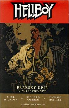 Obálka titulu Hellboy: Pražský upír váz.