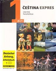 Čeština expres 1 (A1/1) -  německy + CD