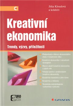 Obálka titulu Kreativní ekonomika
