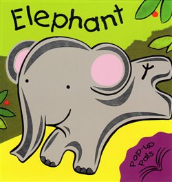 Obálka titulu Elephant - Pop Up Book