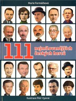 Obálka titulu 111 nejmilovanějších českých herců