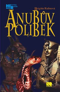 Obálka titulu Anubův polibek