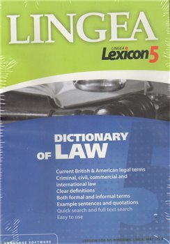 Dictionary of Law. Lexikon 5 (1xCD-ROM)
