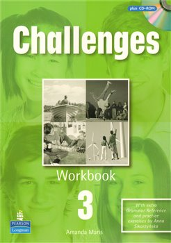 Challenges 3 workbook+CD-ROM - Michael Harris, David Mower, Anna Sikorzyńska