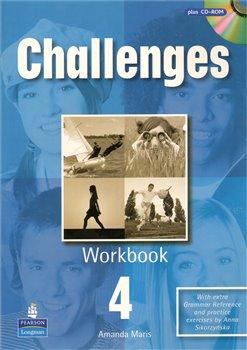 Challenges 4 workbook+CD-ROM - Michael Harris, David Mower, Anna Sikorzyńska