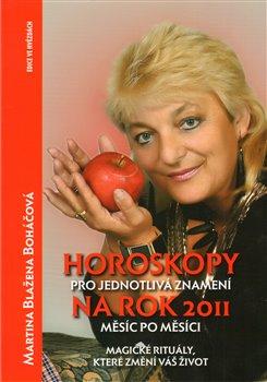 Obálka titulu Horoskopy pro jednotlivá znamení na rok 2011