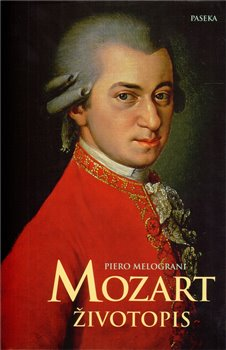 Obálka titulu Mozart životopis