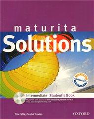 Maturita Solutions Intermediate Student´s Book + CD-ROM Czech Edition