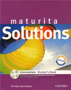 Obálka titulu Maturita Solutions Intermediate Student´s Book + CD-ROM Czech Edition