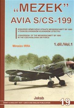 "Obálka titulu ""MEZEK"" Avia S/CS-199"