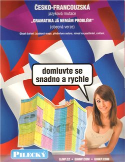 Obálka titulu Jazyková mapa: česko-francouzská - obecná