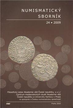 Obálka titulu Numismatický sborník 24/2009