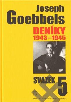 Obálka titulu Deníky 1943-1945 - svazek 5