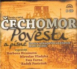 Obálka titulu Pověsti a písně českých, moravských a slezských hradů a zámků