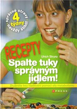 Obálka titulu Spalte tuky správným jídlem - recepty