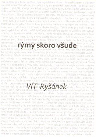 Rýmy skoro všude - Vít Ryšánek | Booksquad.ink