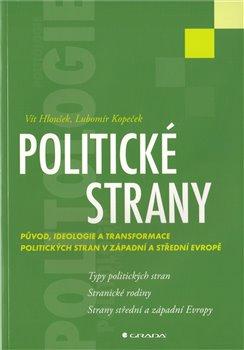 Obálka titulu Politické strany