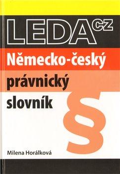 Obálka titulu Německo-český právnický slovník