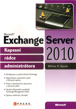 Obálka titulu Microsoft Exchange Server 2010