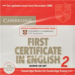 Obálka titulu Cambridge First Certificate in English 2 for Updated Exam Audio CDs