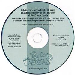 Obálka titulu Bibliografie dějin Českých zemí