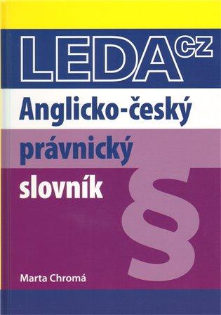 Anglicko-český právnický slovník - -   Booksquad.ink