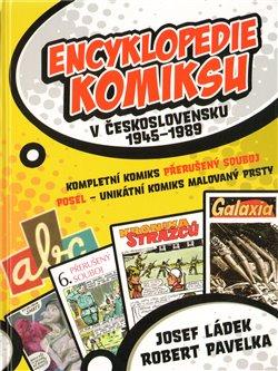 Obálka titulu Encyklopedie komiksu v Československu 1945–1989