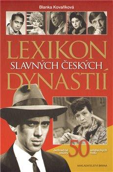 Obálka titulu Lexikon slavných českých dynastií