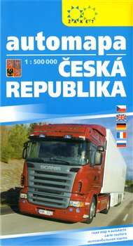 Automapa ČR 1:500 000