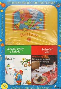 Obálka titulu Vánoční krabička - zvyky,sváteční stůl, betlém,CD