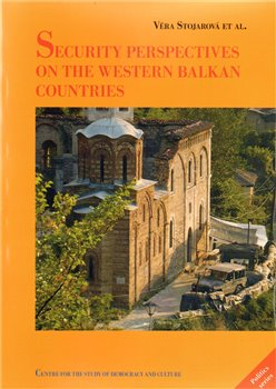 Obálka titulu Security perspectives on the Western Balkan countries