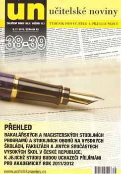 Obálka titulu Učitelské noviny 38-39