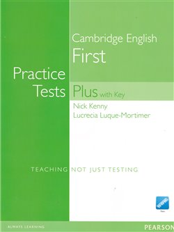 Obálka titulu Practice Tests Plus Cambridge English First 2008 with CD-ROM Pack