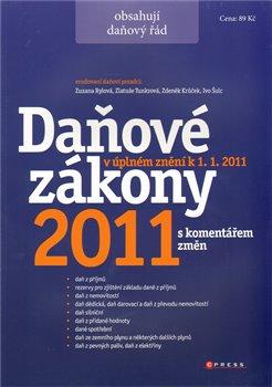 Obálka titulu Daňové zákony 2011