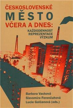 Obálka titulu Československé město včera a dnes