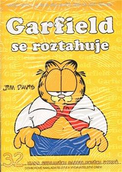 Obálka titulu Garfield se roztahuje