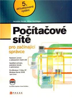 Obálka titulu Počítačové sítě pro  začínající správce