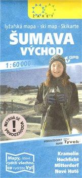 Obálka titulu Šumava východ - lyžařská 1 : 60 000