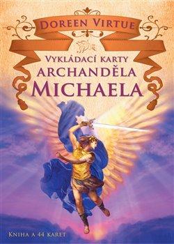Obálka titulu Vykládací karty archanděla Michaela