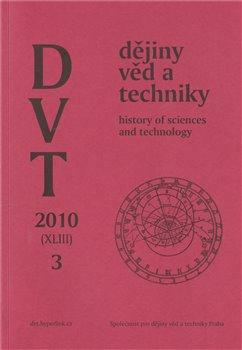 Obálka titulu Dějiny věd a techniky 3/2010