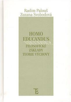 Obálka titulu Homo educandus.