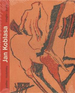 Obálka titulu Jan Koblasa. Grafika - hlubotisky