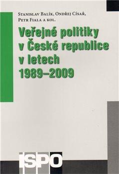 Obálka titulu Veřejné politiky v České republice v letech 1989–2009